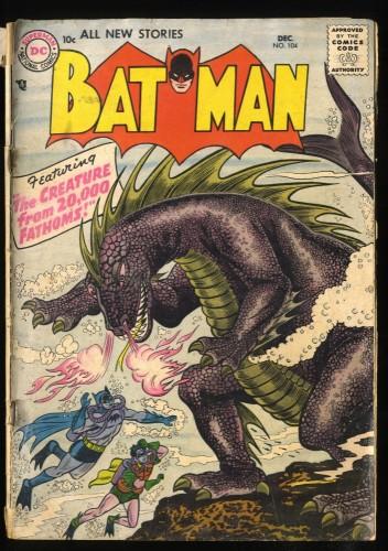 Batman #104 GD 2.0