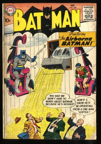 Batman #120 VG- 3.5