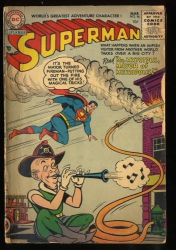 Superman #96 GD 2.0 Mr. Mxyztplk!