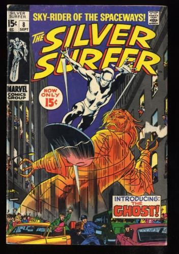 Silver Surfer #8 VG- 3.5