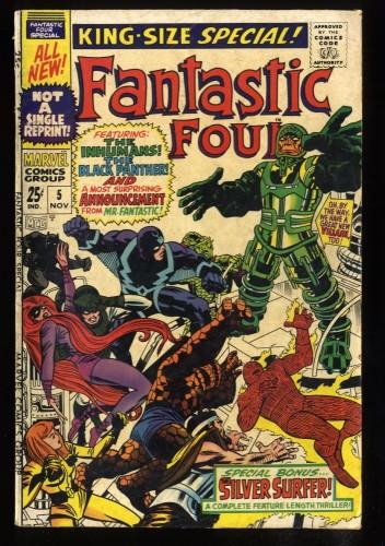 Fantastic Four Annual #5 VG 4.0