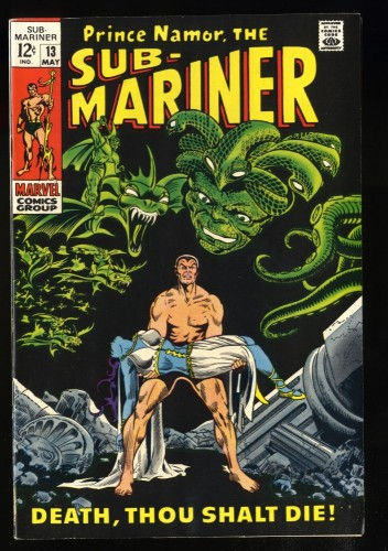 Sub-Mariner #13 VF 8.0 White Pages