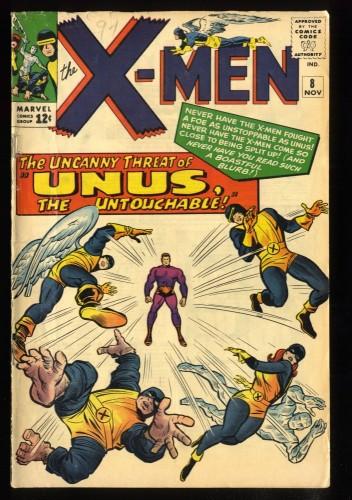 X-Men #8 VG/FN 5.0 Qualified Read Description!