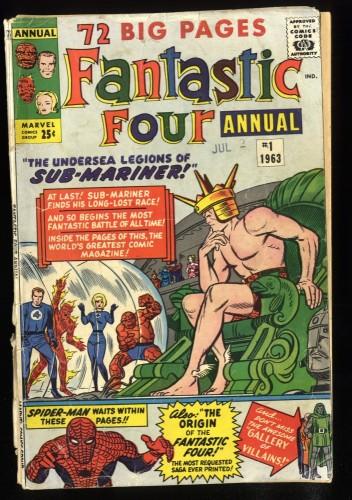 Fantastic Four Annual #1 Inc 0.3