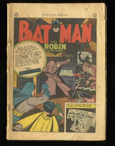 Detective Comics #97 Coverless Complete!