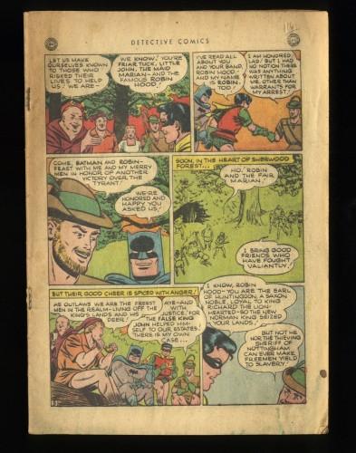 Detective Comics (1937) #116 Coverless Complete!