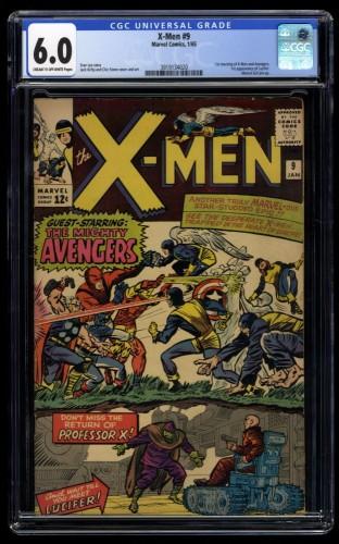 X-Men #9 CGC FN 6.0 1st Lucifer!