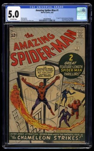 Amazing Spider-Man #1 CGC VG/FN 5.0 Off White