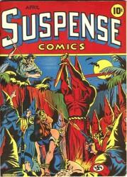 Suspense Comics