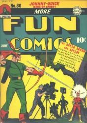 More Fun Comics #80 Aquaman Green Arrow!