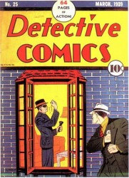 Detective Comics #25 Coverless and 0.1