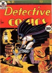 Detective Comics #51 Batman Robin Bondage cover!