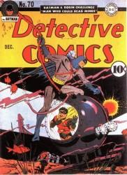 Detective Comics #70 Classic Batman Robin Underwater Cover!