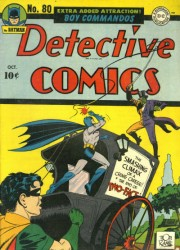 Detective Comics #80 Two-Face Cover! Batman!