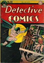 Detective Comics #92 Batman!