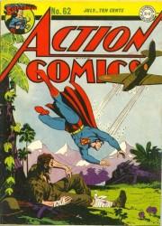 Action Comics #62 World War II Cover!