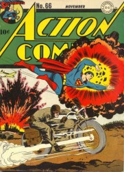 Action Comics #66 WWII Cover!