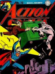 Action Comics #70 1st Thinker!