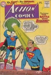 Action Comics #254 1st Meeting of Bizarro and Superman!