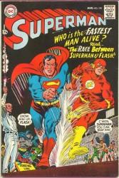 Superman #199 Flash race!