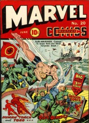 Marvel Mystery Comics #20
