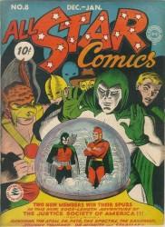 All-Star Comics #8 1st Wonder Woman!