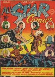 All-Star Comics #11 Wonder Woman Spectre Dr. Fate Hawkman!