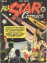 All-Star Comics #13 Wonder Woman Hawkman Spectre!