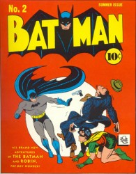 Batman #2 2nd appearance of Joker and Catwoman!