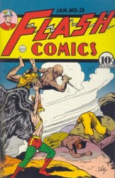 Flash Comics #13 Hawkman!