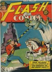 Flash Comics #34