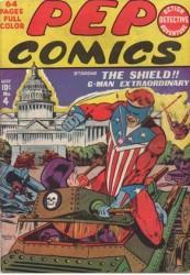 Pep Comics #4 The Shield!