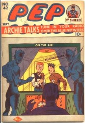 Pep Comics #42