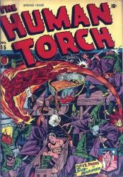 Human Torch #15