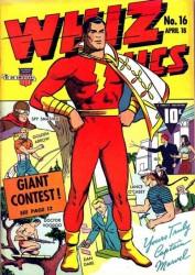 Whiz Comics #16 Spy Smasher battles Captain Marvel!