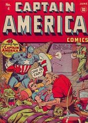 Captain America Comics #4