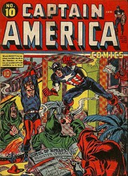 Captain America Comics #10