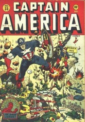 Captain America Comics #33