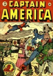 Captain America Comics #34
