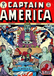 Captain America Comics #35
