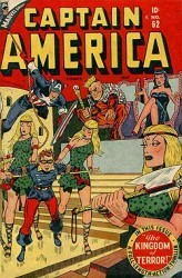 Captain America Comics #62