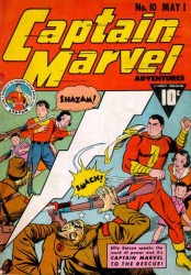 Captain Marvel Adventures #10