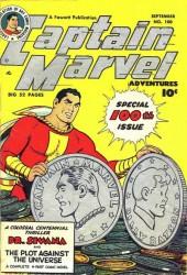 Captain Marvel Adventures #100