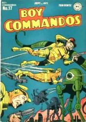 Boy Commandos #17