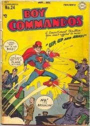 Boy Commandos #24