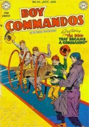 Boy Commandos #34
