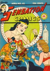 Sensation Comics #40