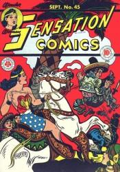 Sensation Comics #45