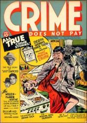 Crime Does Not Pay #24