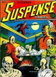 Suspense Comics #1